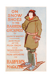 Advertisement for on Snow Shoes to the Barren Grounds  by Caspar W Whitney  C1899