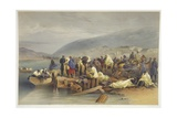 The Embarkation of the Sick at Balaklava  Plate from 'The Seat of War in the East'  Published by…