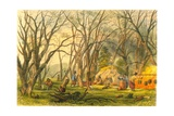 Indian Sugar Camp  1853