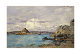 Study for 'The Bay of Douarnenez'  C1895-97