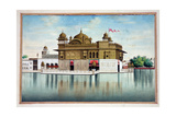 The Golden Temple at Amritsar  from 'The Kingdom of the Punjab  its Rulers and Chiefs  Volume I' …
