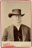 Horace Greeley (1811-72)  US Politican and Newspaper Editor