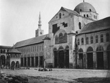 Exterior View of the Prayer Hall  Umayyad Mosque  Damascus  Syria  1862
