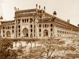 Exterior of Asoph-Ou Dowlahs Emambara and Grounds  Lucknow