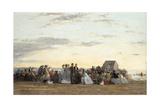 Beach Scene  1865