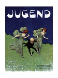 Poster Advertising the 'Jugend' Newspaper