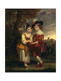 Lord Henry Spencer and Lady Charlotte Spencer  Later Charlotte Nares: the Young Fortune Tellers …