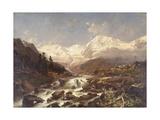 Koenigspitze-Tirol  1877