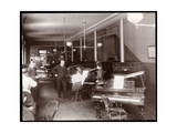 A Showroom of the New England Piano Co  1895