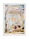 Frontispiece of 'The Book of Thel'  1789