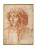 Bust Portrait of a Boy Wearing a Cap