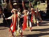 Baris Dancers  Bali  Indonesia