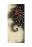 Thunder God  Edo Period  1847