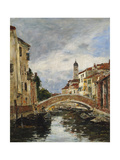 A Small Venetian Canal  1895