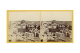 Panoramic View of the Temple Area  1850s