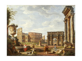 A Capriccio View of Rome  1743