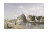 The Tower of Francis I at Le Havre  C1854