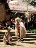 The Barong Dance  Bali  Indonesia
