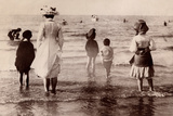 Family at the Beach  1890