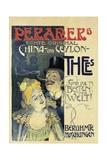 Poster Advertising 'Perarers' Teas