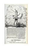 Victory of the Press for the Liberties of the People  Illustration from 'The Political Showman -…