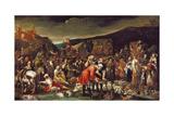 The Market  or the Fair of Poggio a Caiano