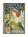 Poster Advertising a Christmas Issue of 'Harper's Magazine'