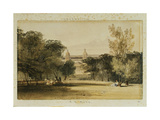 Greenwich Hospital from the Park  1830