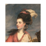 Jane Fleming  Later Countess of Harrington  C1778-79 (Detail)