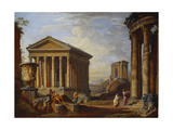 A Capriccio of Classical Ruins  1793