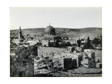 Panoramic View of the Temple Mount  1858