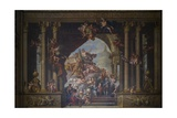 The West Wall of the Painted Hall  C1707-27