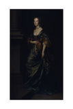 Portrait of Elizabeth Cecil  Countess of Devonshire  C1639