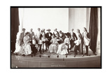 The Cast of an Amateur Production of an Unidentified Play Presented at Barnard College