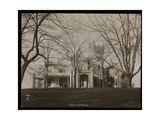 The Helen Gould Estate (Late Jay Gould Residence) at Tarrytown  New York  1893-94