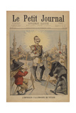 The German Emperor on a Voyage'  Title Page of the Illustrated Supplement of Le Petit Journal …