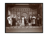 "A Scene from an Amateur Production of a Play Titled ""Le Medecin Malgre Lui"" Presented at Barnard…"