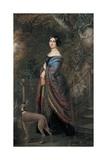 Lady with a Greyhound  C1839-42