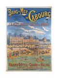 Cabourg Poster