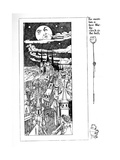 The Moon Has a Face Like the Clock in the Hall'  Illustration from 'A Child's Garden of Verses'…
