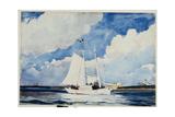 Fishing Schooner  Nassau  C1898-99