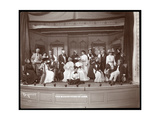 "A Scene from an Amateur Production of a Play Titled ""The Manoeuvers of Jane"" Presented at Barnard…"