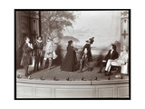 "A Scene from an Amateur Production of a Play Titled ""The Critic"" Presented at Barnard College …"