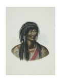 Koukok or Kat Indian (Gwich'In)  West of Mackenzie River  1854