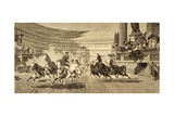 Chariot Race at Roman Games  after a Painting by Alejandro Wagner  from 'Album Artistico' …
