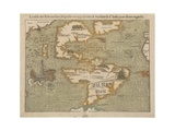 Map of the New World  C1556