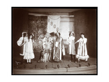 "A Scene from an Amateur Revue Titled ""Barnardesia"" Presented at Barnard College  New York"
