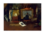 The Inner Studio  Tenth Street  1882