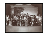 "The Cast of an Amateur Production of a Play Titled ""The Critic"" Presented at Barnard College  New…"