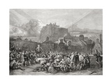 Signing the Covenant in Greyfriars Churchyard  Edinburgh in 1638  from 'scottish Pictures Drawn…